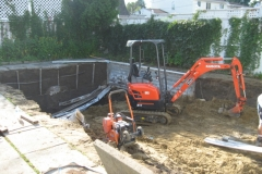 Before - Ottawa Pool Removal